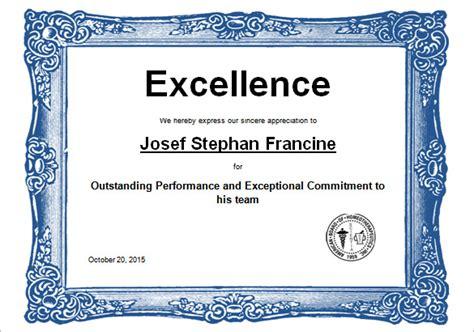 Certificate Template  62+ Free Printable Word, Excel, Pdf