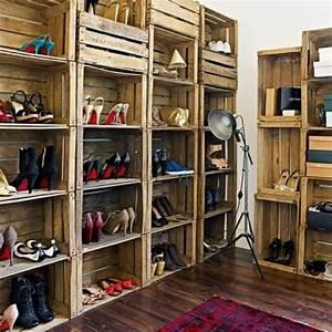 Meuble à Chaussures Original : meuble chaussures original 1 id es de d coration int rieure french decor ~ Teatrodelosmanantiales.com Idées de Décoration