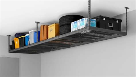ceiling storage rack newage products 40151 4 by 8 ceiling mount