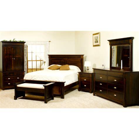 amish lansing bed usa  bedroom furniture american
