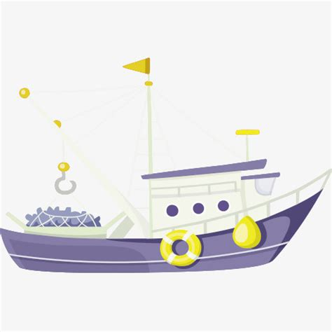 Boat Cartoon Png by Cartoon Boat Boat Vector Free Matting Png Map Png And