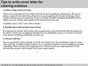 Charge Nurse Cover Letters Catering Waitress Cover Letter