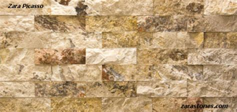 picasso wall cladding fireplace veneer travertine