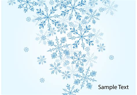 Winter Winter Background Snowflake by Winter Snowflake Vector Background Free Vectors