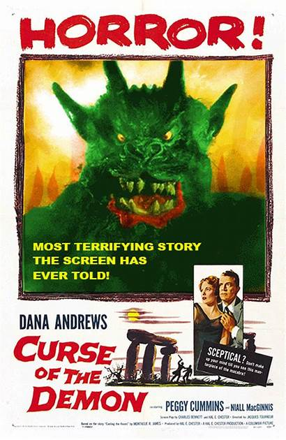 Horror Poster Posters Demon Film Movies Curse