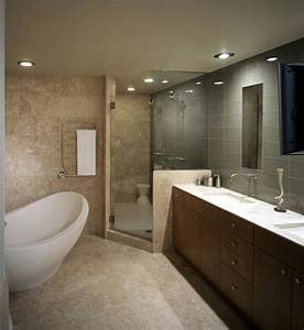 Moderne Badezimmer Beleuchtung : moderne badezimmer ideen die sie beeindrucken ~ Sanjose-hotels-ca.com Haus und Dekorationen