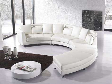 canapé arrondi sectional sofa for unique seating alternative