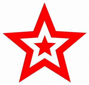 Red Star Clipart - ClipArt Best