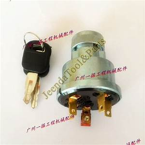 5 Terminal Wire Ignition Switch Fits Caterpillar 320 3e