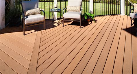 Moisture Shield Decking Vs Trex by Moistureshield Composite Decking Composite Wood Products