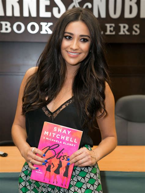 Shay Mitchell - 'Bliss' Book Signinng at Barnes & Noble in ...