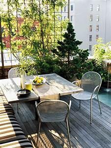 Was Ist Ein Patio : 10 ideen f r balkon und dachterrasse gr ne oase in der stadt gestalten ~ Frokenaadalensverden.com Haus und Dekorationen
