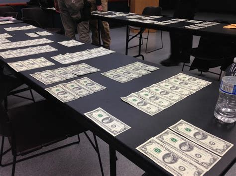 counterfeit eureka currency 12k meth discovered hotel department police release press