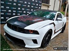 Galpin and DUB Build Ford Mustang For Tony Hawk Stand Up
