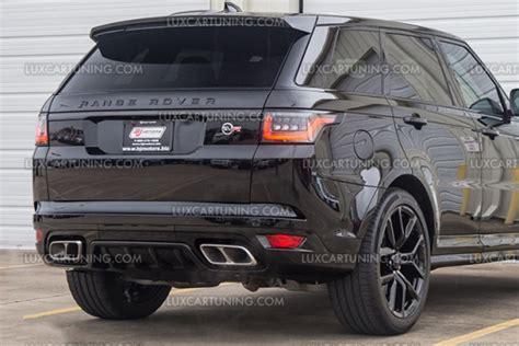luxcartuningcom sport svr body kit  range rover
