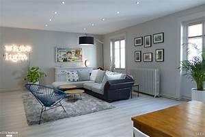 interieur maison ton gris With attractive maison bois et pierre 4 chandolas de pierres et de bois