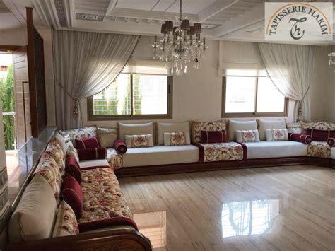 salon marocain salon marocain moderne decoration
