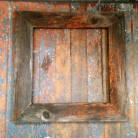 How To Make Barn Wood how to build a barn wood frame insteading