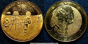 Old United States Apollo 12 Space Mission Commemorative ...