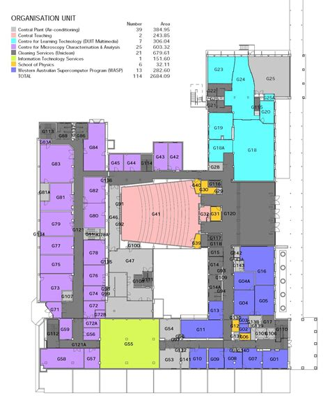 rooms labs  floor plans department  physics