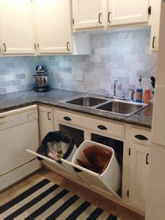 kitchen cabinet recycling center 17 best ideas about kitchen trash cans on 5681