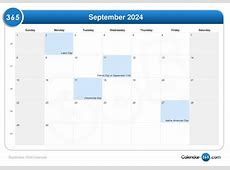 September 2024 Calendar