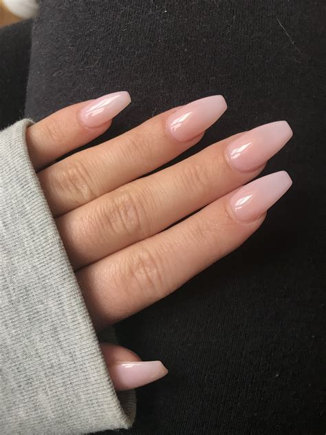 image result  opi pink acrylic coffin nails unas