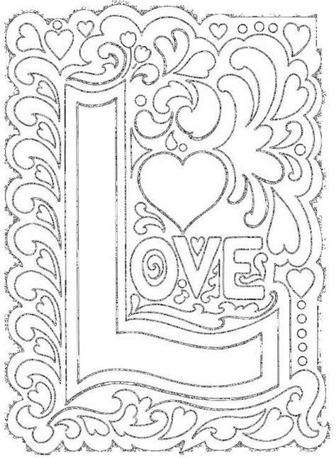 coloriage amour art pour se detendre dessin gratuit  imprimer