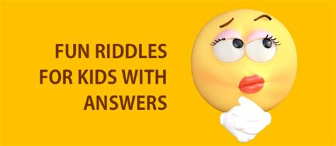printable easy riddles  answers