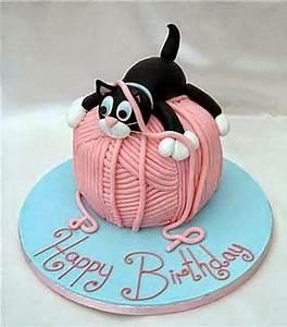 50 Best Cat Birthday Cakes Ideas And Designs - iBirthdayCake