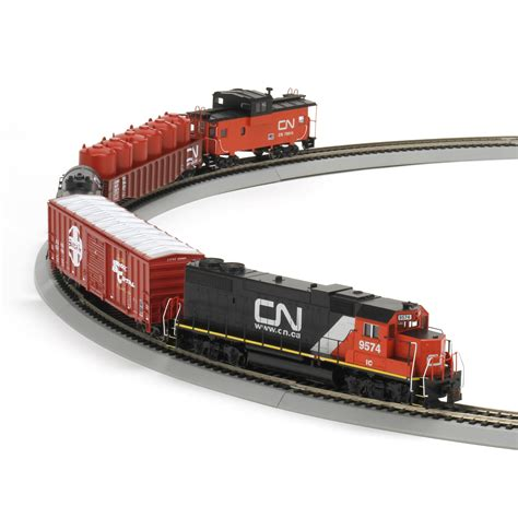 ho iron horse train set cn ath29307 athearn trains
