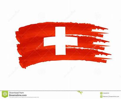Swiss Flag Clipart Suisse Illustration Royalty Drawn