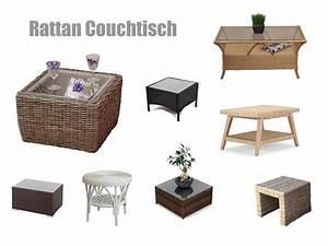Rattan Couchtisch Mit Glasplatte : rattan couchtisch rund oder eckig ~ Bigdaddyawards.com Haus und Dekorationen