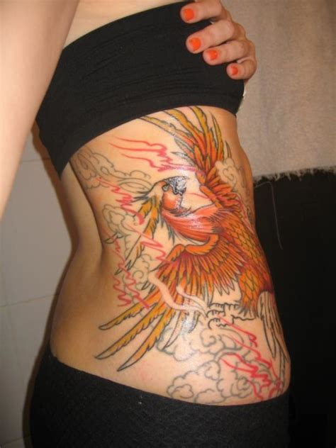incredibly attractive phoenix tattoos  prosperity