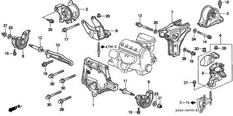 Honda Civic Parts Diagram Automotive