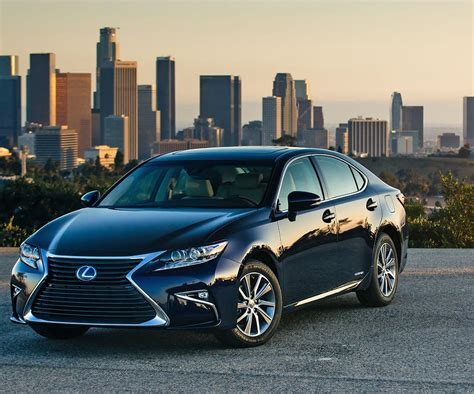 lexus es lexus es hybrid and v6 modifications received new styling