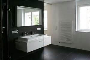 bad in schwarz badezimmer in schwarz weiss müller wohnbau community