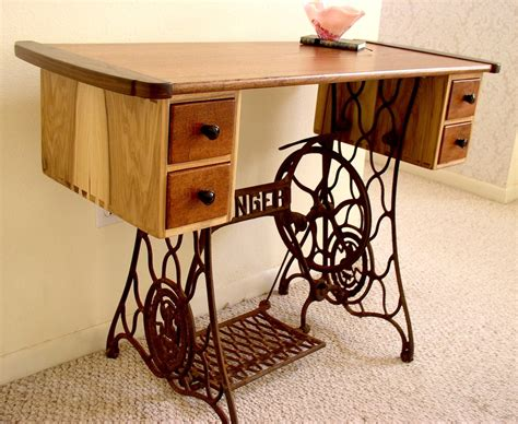 sewing machine desk my s sewing table louis fry a furniture maker s