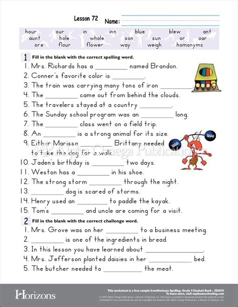 Homeschool Curriculum Grade 5 Worksheets For All  Download And Share Worksheets  Free On