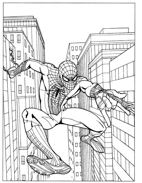 Spider Man 53 Coloringcolorcom
