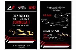 chantelle grove graphic design With formula 1 wedding invitations