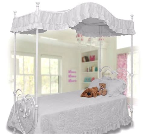 canopy bed covers size white ruffled canopy bed cover top topper