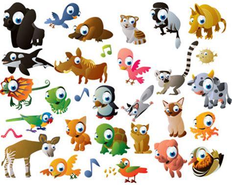 cartoon animal vector pack ai svg eps vector