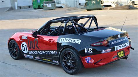 winding road racing mazda race car builds winding road
