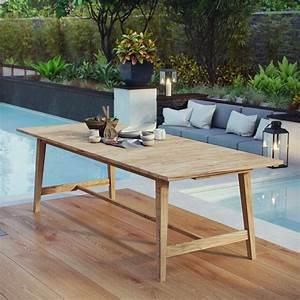 Dorset, Outdoor, Patio, Teak, Dining, Table, Natural
