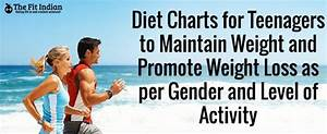 Diet Charts For Teenagers As Per Their Daily Calorie