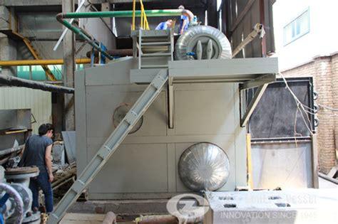 10 Ton D Type Oil Gas Boiler Setup Successfully