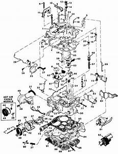 Fig  11  Exploded View Of The Rochester E4me Carburetor