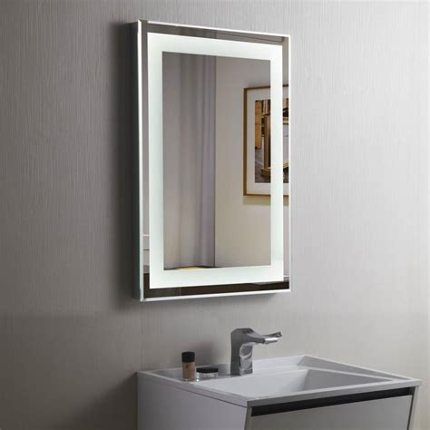 Lighted Bathroom Mirror Wall Mount by 20 Lighted Vanity Mirrors For Bathroom Mirror Ideas