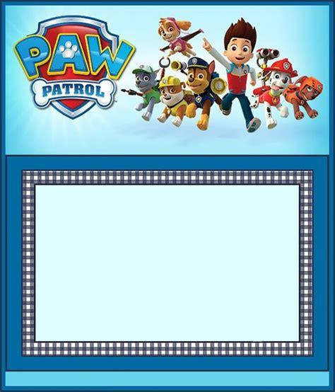 paw patrol invitation template free paw patrol invitation template invitations